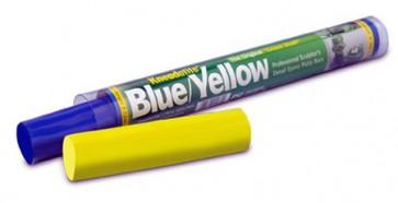 Kneadatite Green Stuff Blue/Yellow Two-Part Epoxy Putty Bars