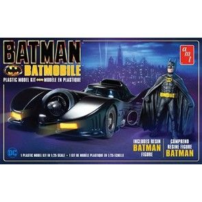 1/25 Batman 1989 Movie Batmobile w/Resin Batman Figure