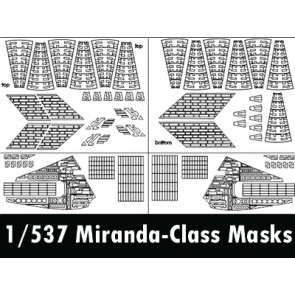 1/537 Miranda-class Aztek Masks (for AMT/Round2)
