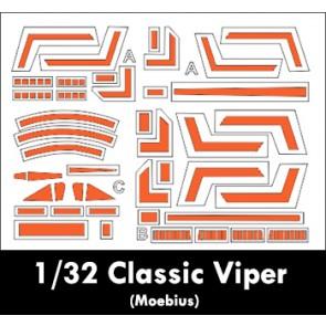1/32 Moebius Classic BSG Viper Painting Masks
