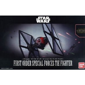 1/72 Star Wars: The Force Awakens  First Order Special Forces TIE Fighter