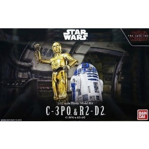 1/12 Star Wars: C3PO & R2D2 Droid Figures