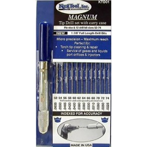 King Tool Magnum: Micro Utility Drill Set