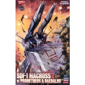1/4000 SDF-1 Macross w/Prometheus & Daedalus (Storm Attacker Mode)