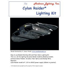 Cylon Raider (TOS)  Lighting Kit