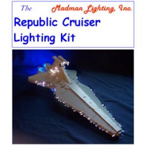 Republic Cruiser Lighting Kit for Revell