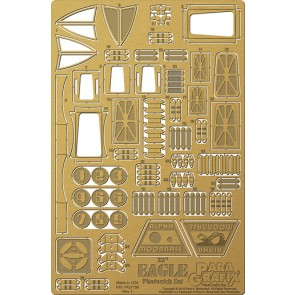 1/48 (22 in) Eagle Transporter Photoetch Set (for MPC)