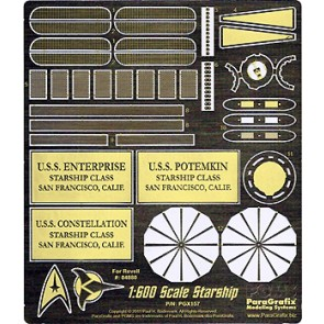 1/600 Revell Enterprise Photoetch Set