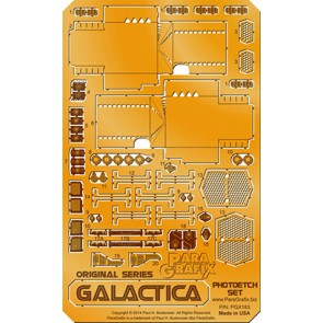 1/4105 Original Series Galactica Photoetch Set (for Moebius)