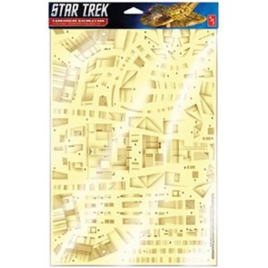 1/750 Cardassian Galor Class Weathered Panel Decal Set for AMT (Star Trek Deep Space Nine)