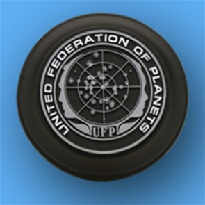 4-in United Federation of Planets Logo Base - Alternate Style - Long Text