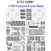 1/1000 Enterprise-B Aztec Templates (for AMT)